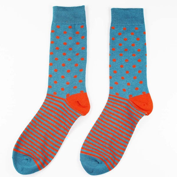 Lines and Dots Socks