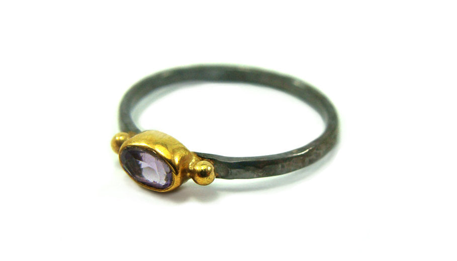 ANILLO WHIM OVAL Amatista
