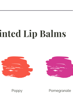 Organic Tinted Lip Balms | Spring + Summer Collection