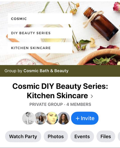 Request to join our private DIY Beauty Facebook Group