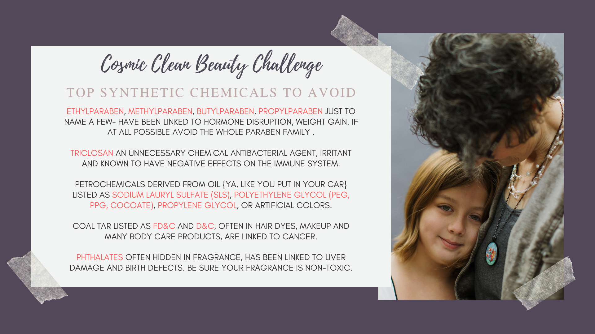 Cosmic Clean Beauty Challenge
