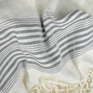 Natural Color Cotton Peshtemal Towel