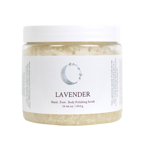 Exfoliating Body Polishing Scrub Lavender