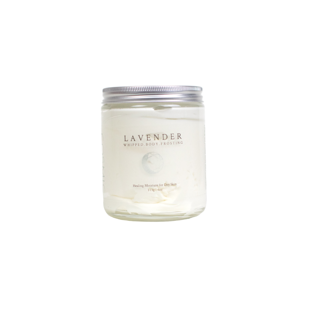 Lavender Whipped Body Frosting Moisturizer