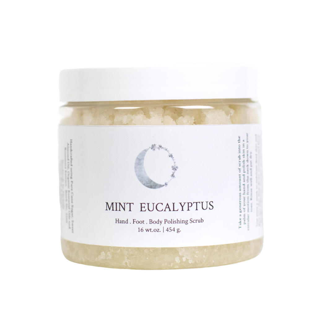 Exfoliating Body Polishing Scrub Mint Eucalyptus