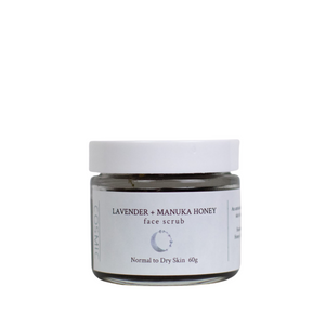 Lavender & Manuka Honey Exfoliating Face Scrub