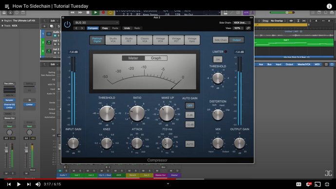How To Sidechain in Logic Pro 10.5 | 2020