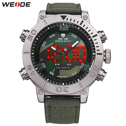 Mens Dual Display Wristwatches