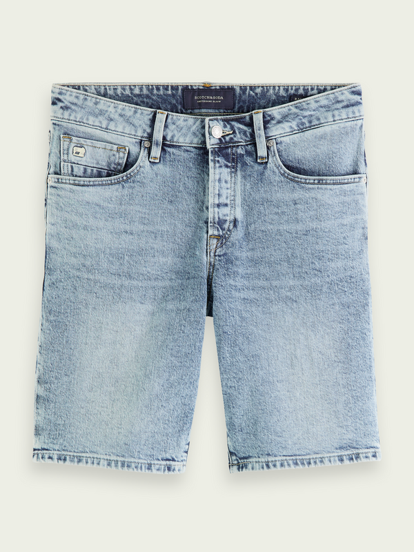 Scotch&Soda Ralston Timeworn Denim Short