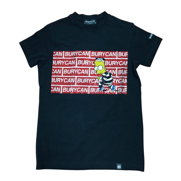 Burycan Paris Simpson Tee (Black)