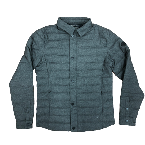 Scotch & Soda-Classic Quilted Wool-Blend Jacket