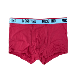 Jersey Boxer With Logo (Red)