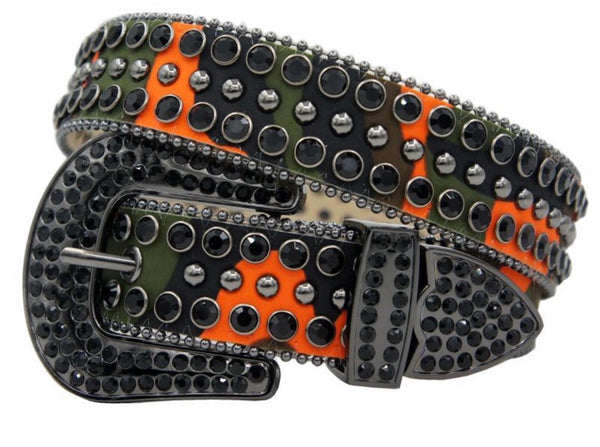 DNA Belts-Green/Orange/Black