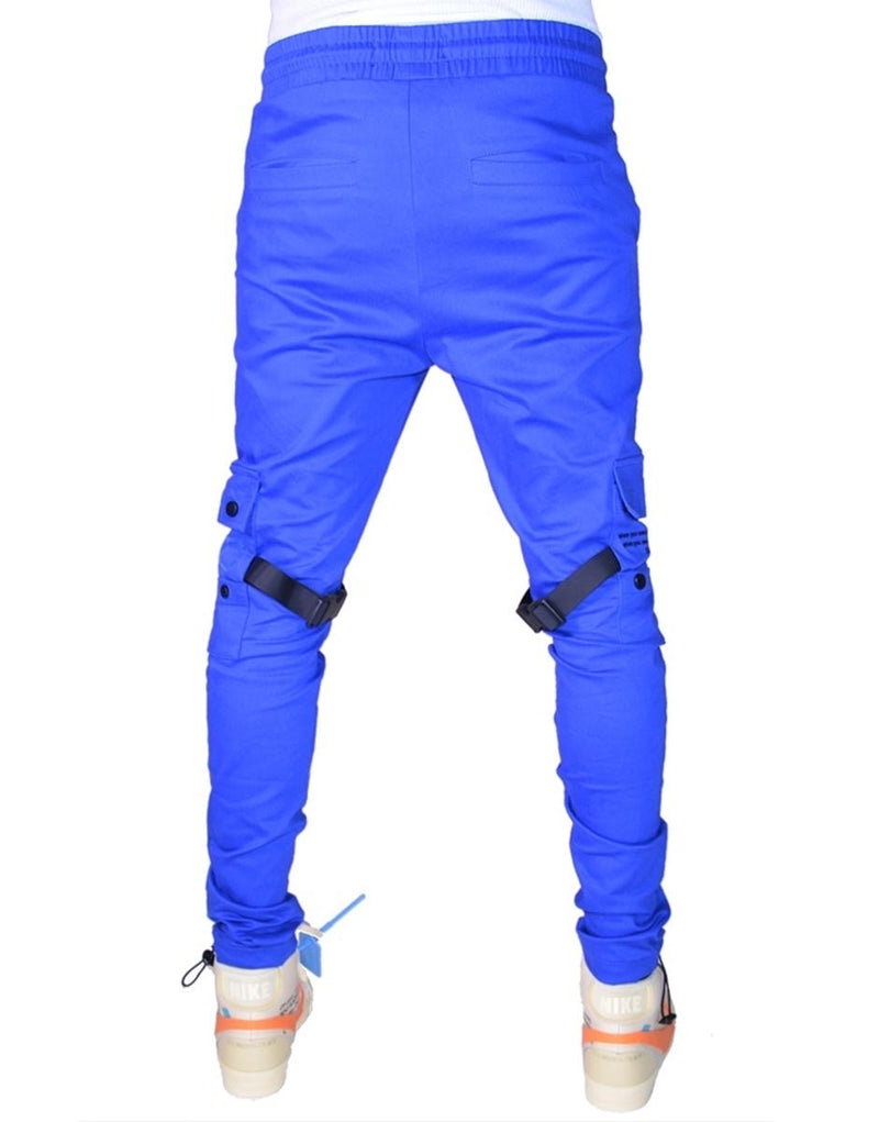 Hideout-Electric Cargo Pants (Mystery Blue)