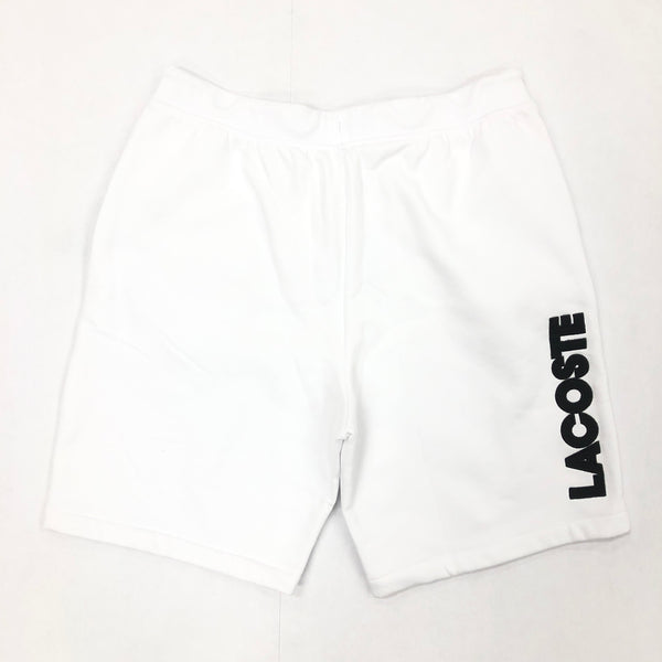 Lacoste Fleece Shorts (White)