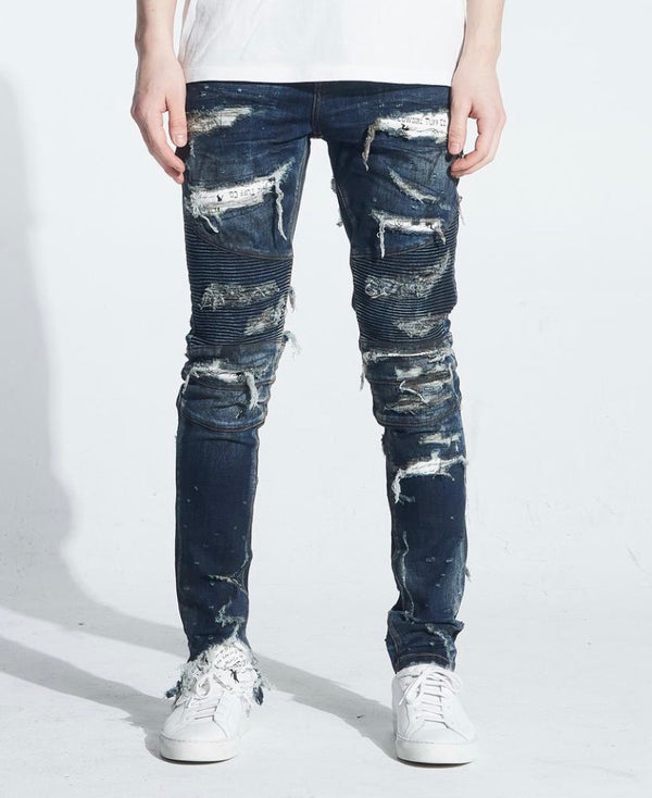 Embellish NYC Ambrose Biker Denim
