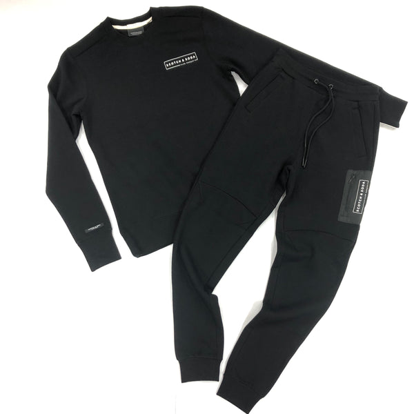 Scotch & Soda-Black Jogging Set