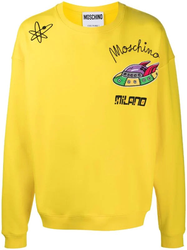 Hyper Space Sweater (Yellow)