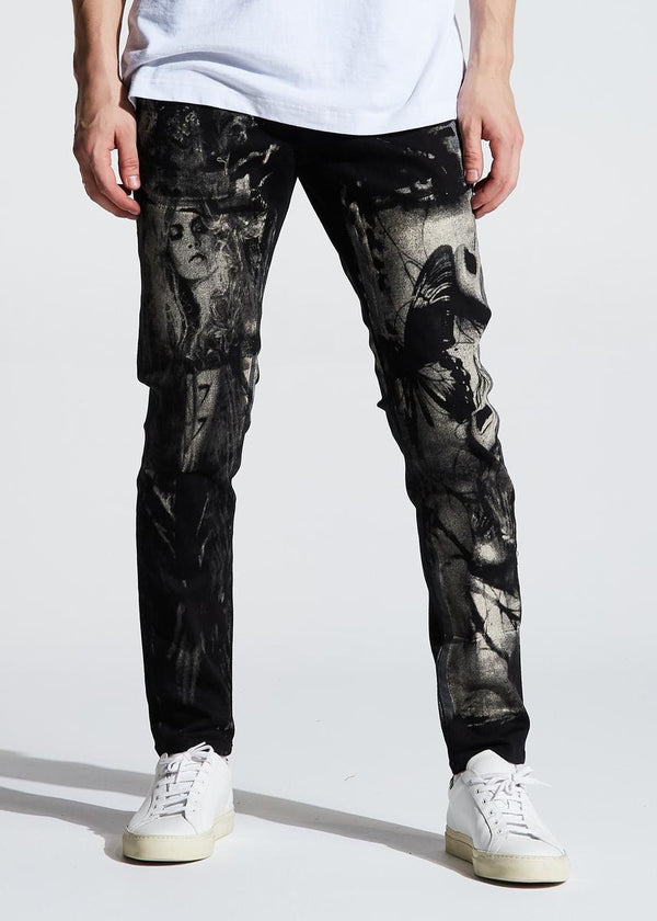 Embellish NYC Newton Standard Denim (Black)
