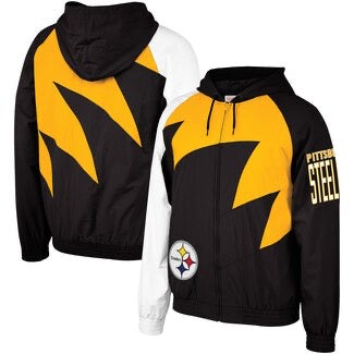 NBA Shark Tooth Jacket Pittsburgh Steelers
