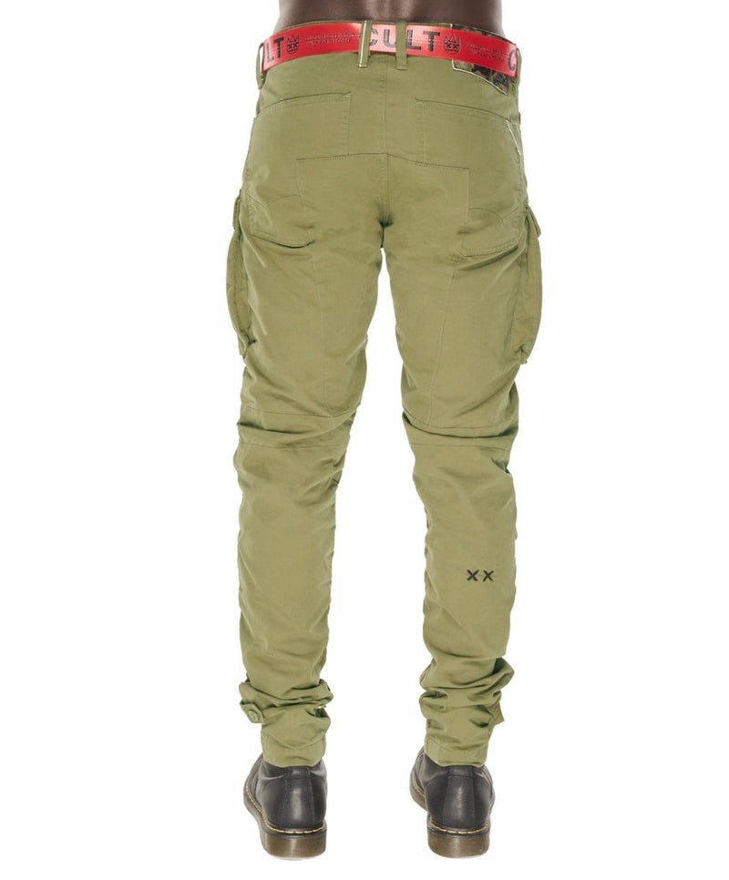 Cult Of Individuality Rocker Cargo Army Green