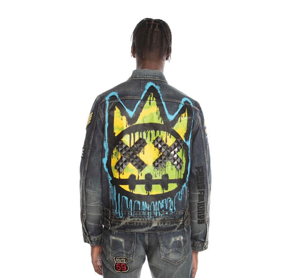 Cult Of Individuality Type 3 Sulfur Denim Jacket