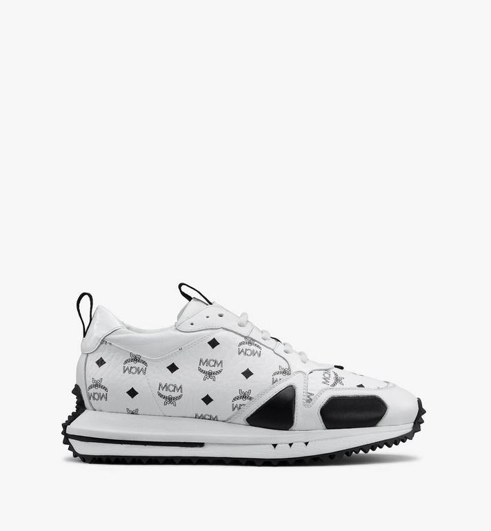 MCM-Women's Mach 76 Sneakers (White)