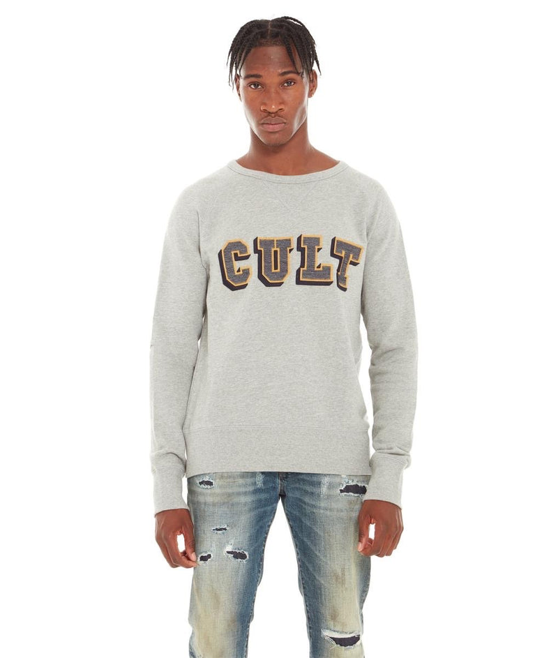 Cult Of Individuality Crewneck Fleece (Heather Grey)