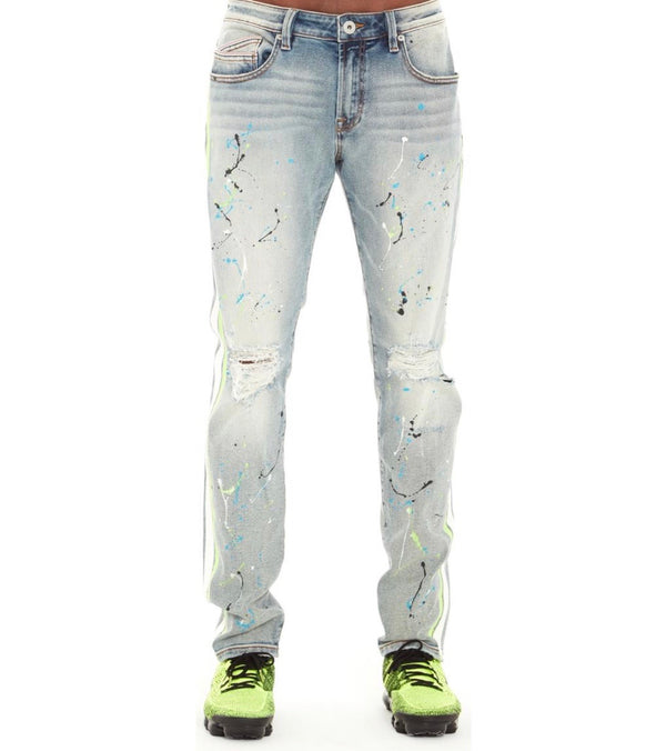 Cult Of Individuality Rocker Slim Jeans (Neon)