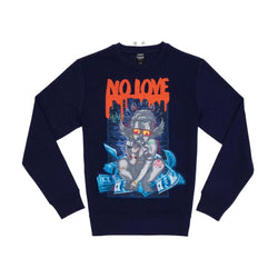 Genuine No Love Crewneck (Navy)