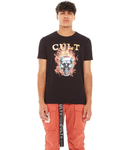 Cult Of Individuality Bridges Tee (Black/Rust)