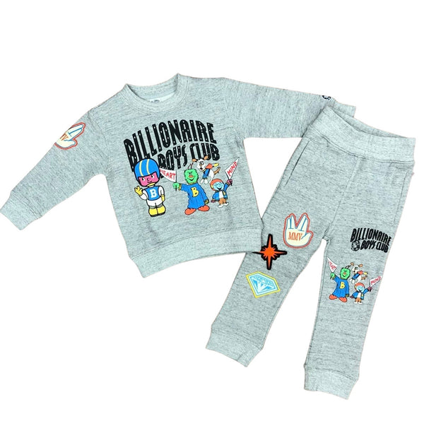 BBC Kids Go Team Jogging Set (Grey)