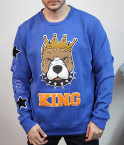 Top Gun Crewneck (Royal)