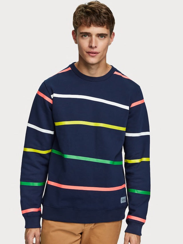 Scotch & Soda-All Over Printed Sweatshirt