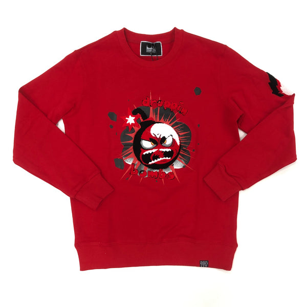 Denim City The Drop Sweater (Red)