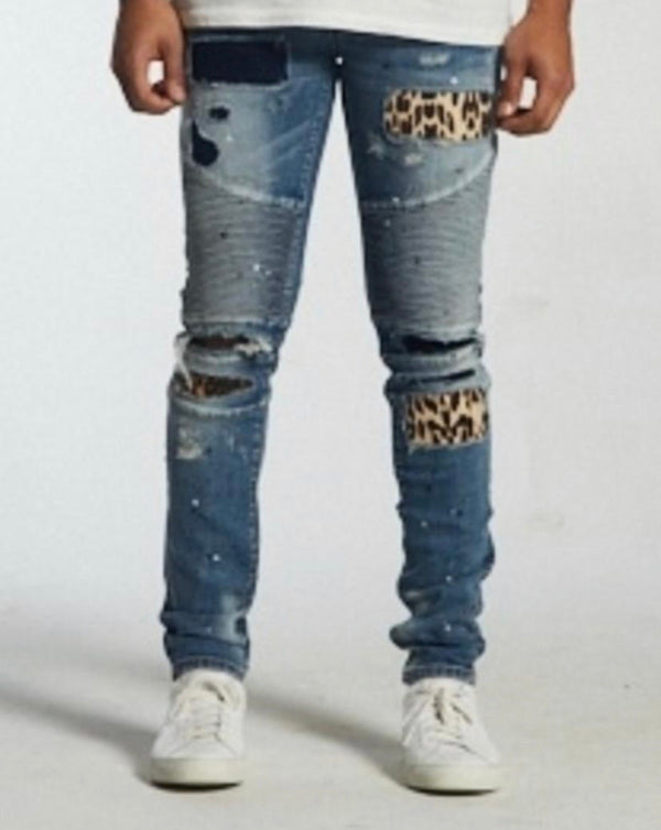 Embellish NYC Laguna Biker Denim