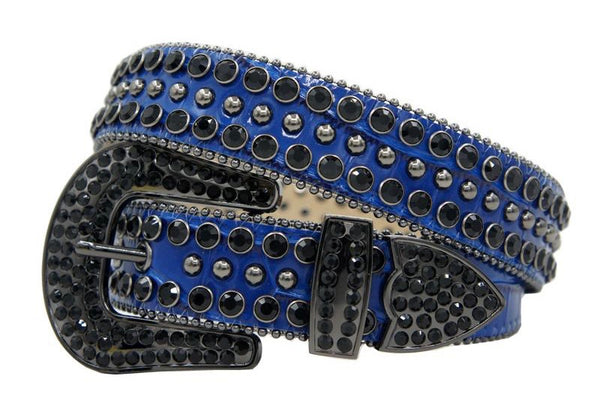 DNA Belts-Royal/Black