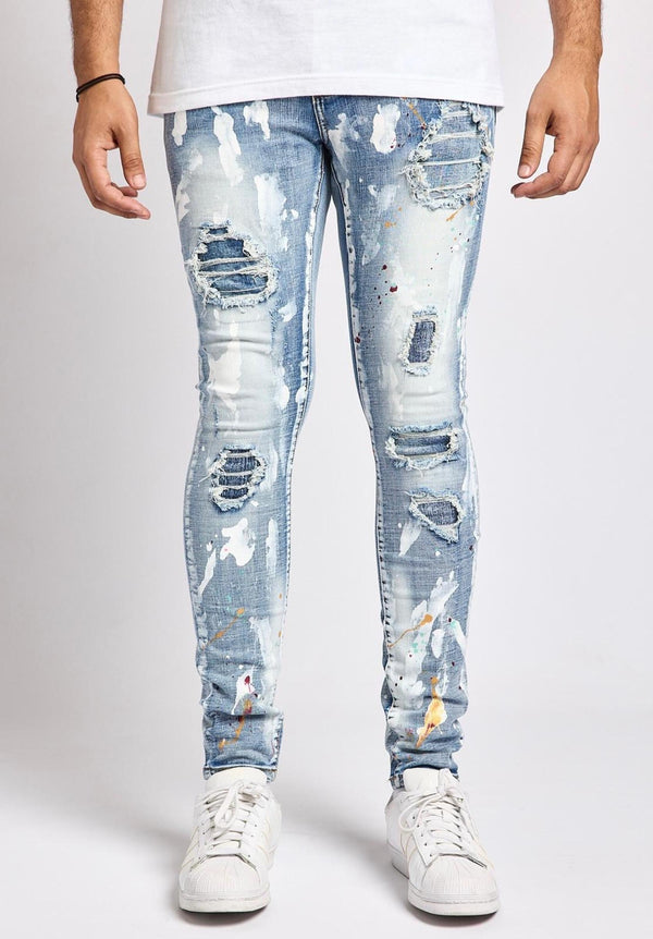 DMT Light Paint Denim