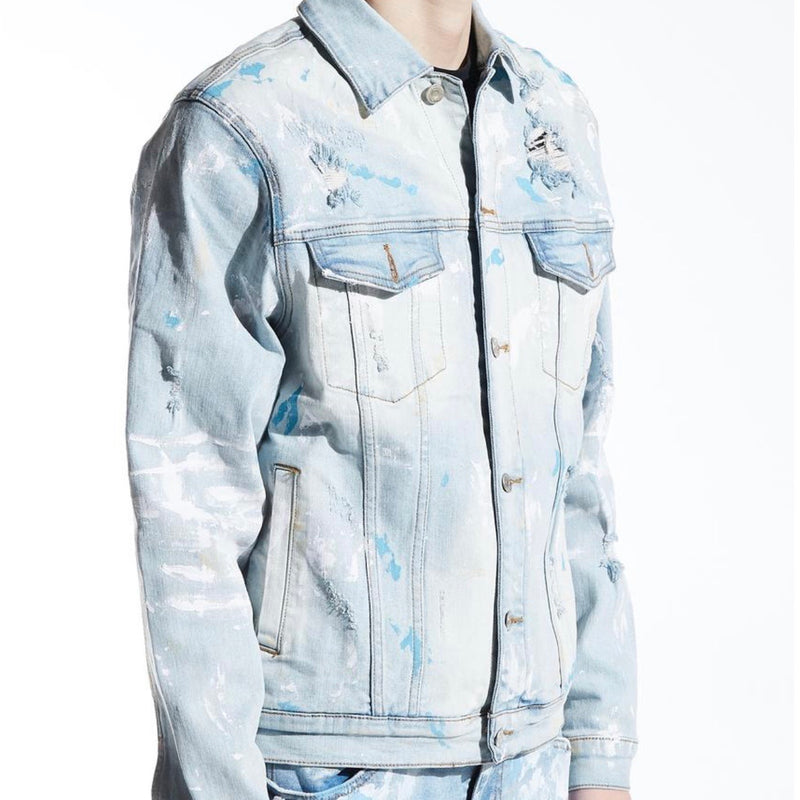 Embellish NYC Hasting Denim Jacket