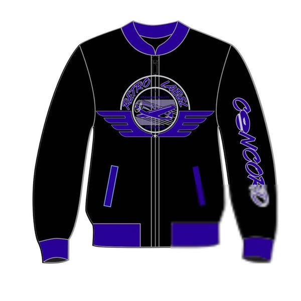 Retro Label-12s Concord Jacket (Purple)