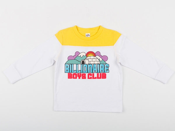 BBC Kids Iggy Long Sleeve Knit (White)