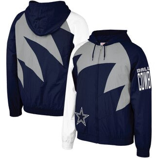 NBA Shark Tooth Jacket Dallas Cowboys
