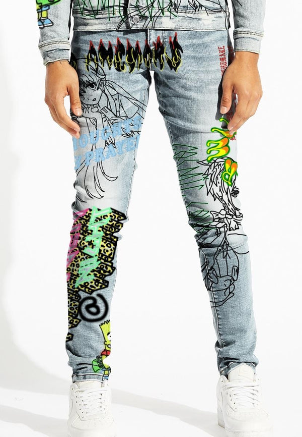 Lifted Anchors Carnival Denim