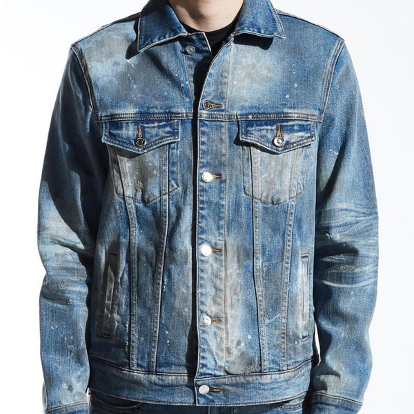 Embellish NYC Burns Denim Jacket