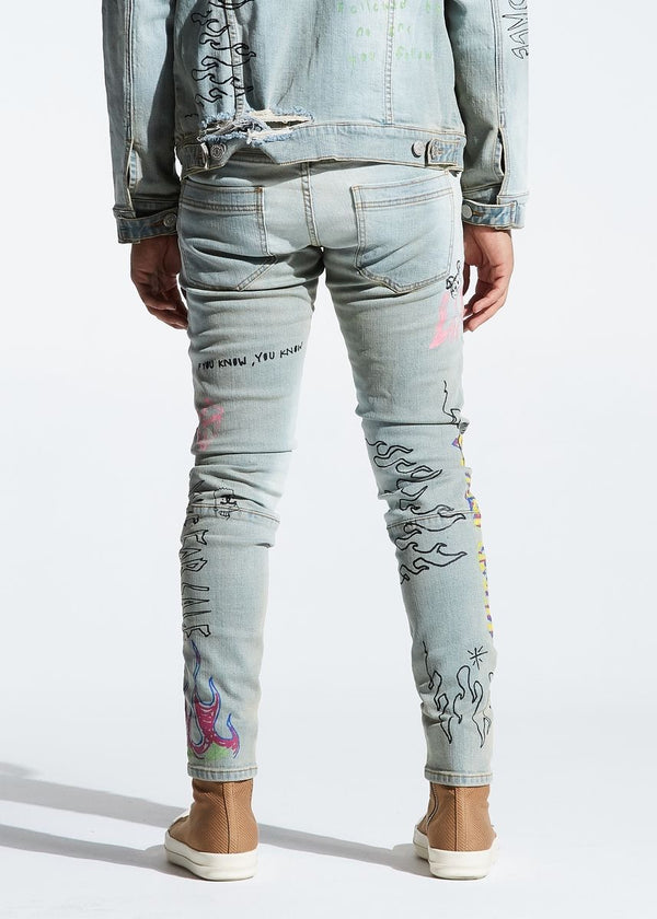 Lifted Anchors Clarke Denim Jeans (Blue)