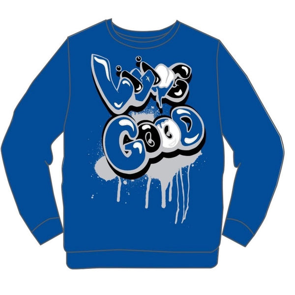 Retro Label-3s Royal Good Sweater