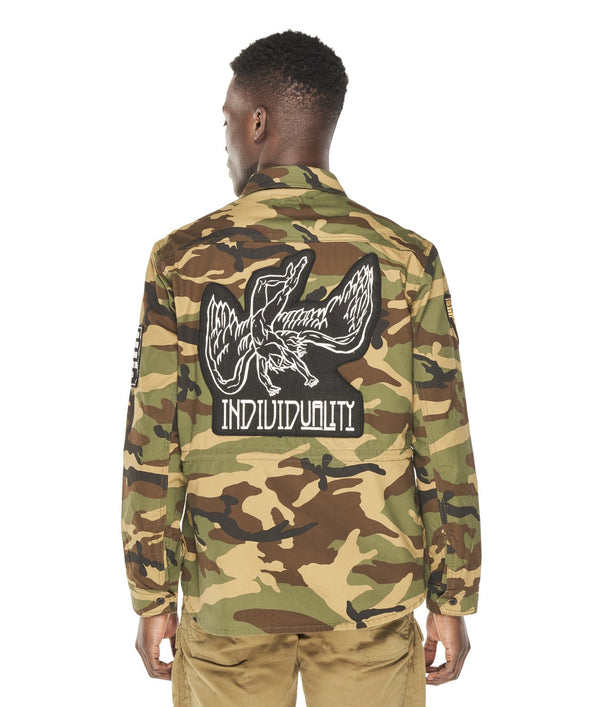 Cult Of Individuality Platoon Shirt Camo