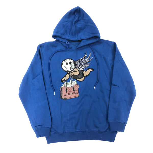 Focus Secure The Bag Hoodie (Royal)