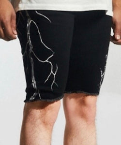 Crysp White Lightning Shorts