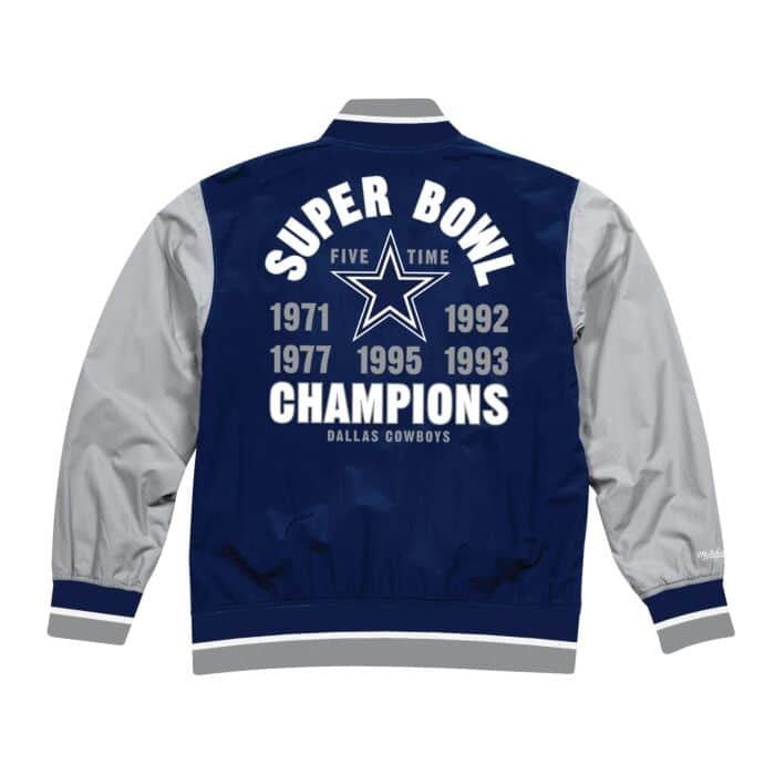 Team History Warm Up Jacket Cowboy